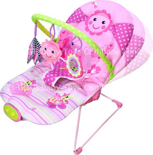 Ajustable Flower Dance baby bouncer