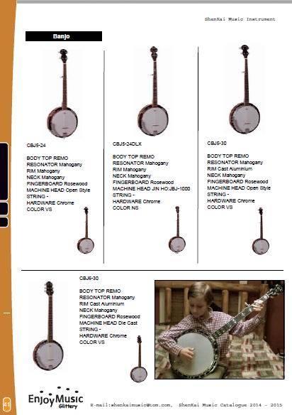 sell ukulele, banjo, mandolin, music instrument