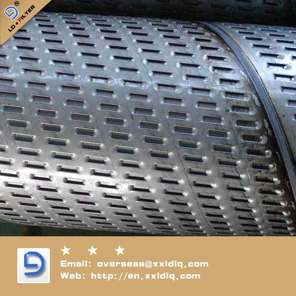 spiral welded stainless steel filter tube (spiral welded pipe)