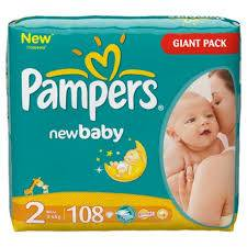 Sell Pampers Mini GIANT (108)