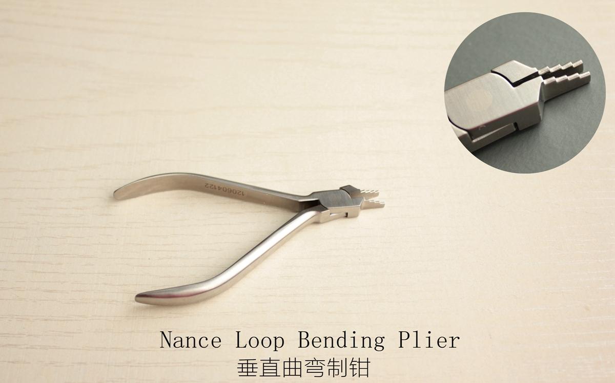 Orthodontic Plier- dental instruments-Nance Loop Bending Plier