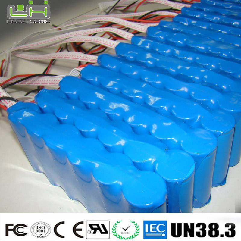 electric equipment 18650 battery pack with PCB protection
