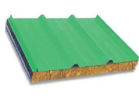 Rock Wool Sandwich Roof Panel
