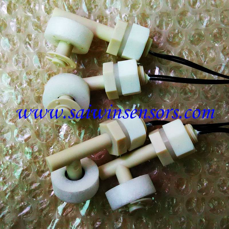 Liquid Water Level Sensor Right Angle Float Switch Mini Float Switch SW-PPS-VIW