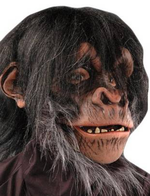 Youtumall Animal Talk Mouth Moves Latex Chimp Mask