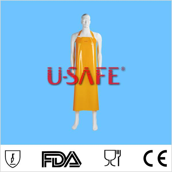 resistance waterproof PVC apron for kitchen / food industry