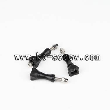 stainless steel plastic head screw/Thumb screw for fixing camera