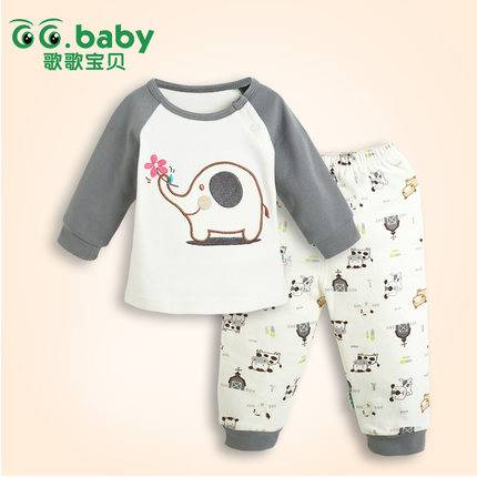 2015 Fashion Spring Autumn Baby Sets 100%Cotton Newborn Baby Girl Boy Clothes Suits