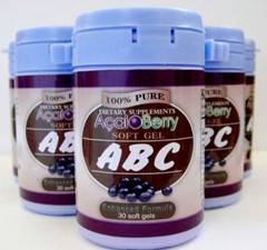 ABC Acai Berry Slimming Capsule-factory price