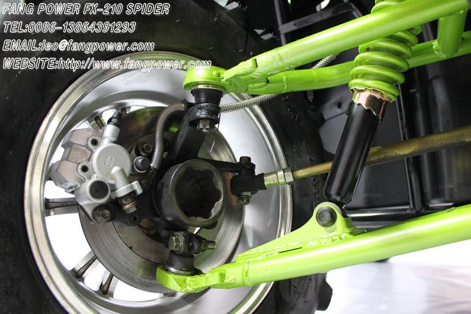 double A arm suspension fashionable shaft utv 250 price