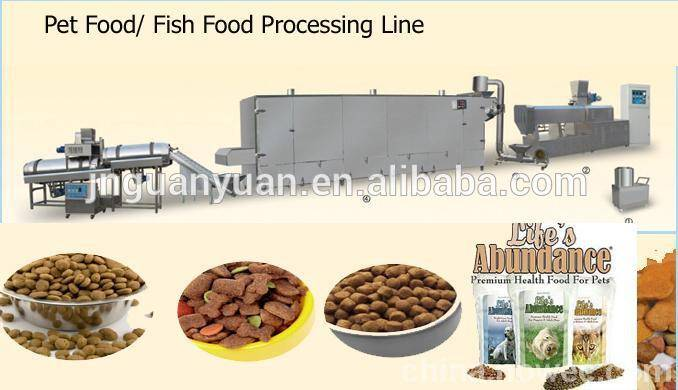 All Kinds of Pet Food Production Line/Making Machine/Equipment