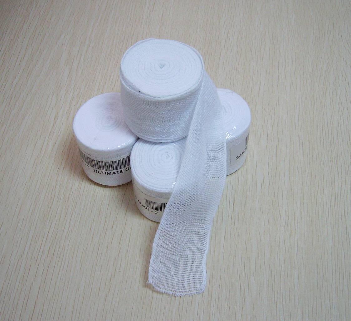Boxing Hand Wrap Gauze (Side-Woven Gauze Bandage), Fight Sports Super Gauze