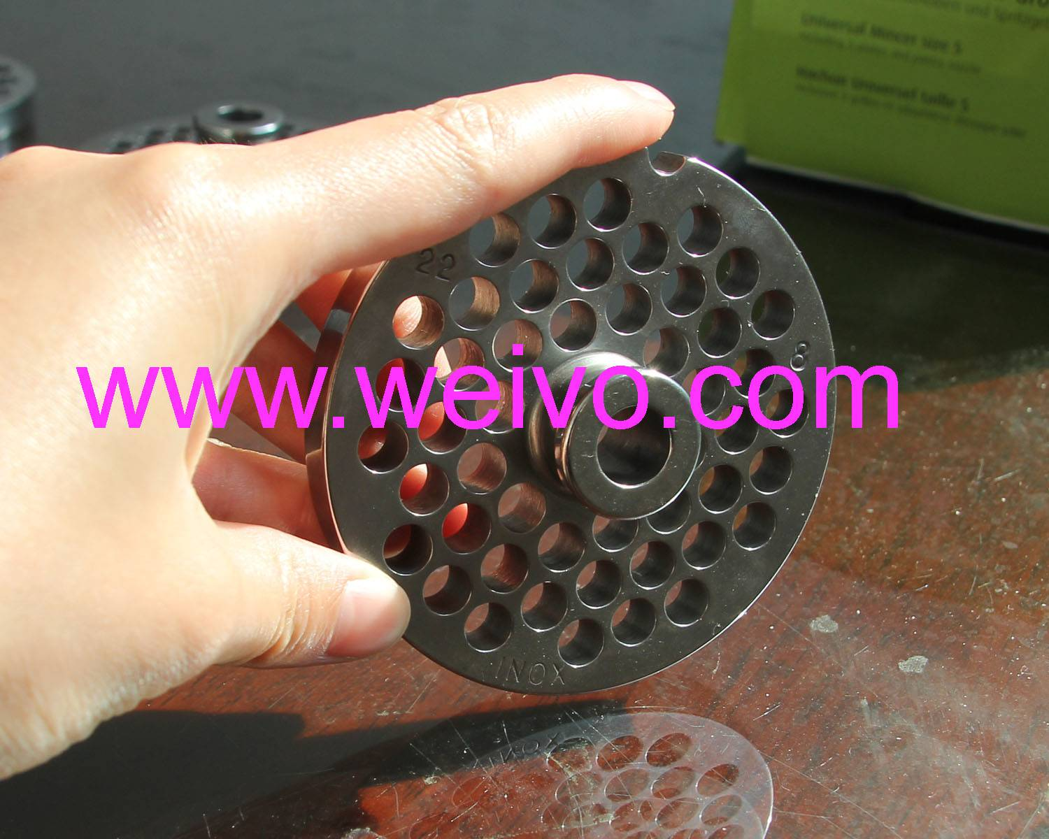 No.22/ 8mm Meat Mincer parts/ Meat grinder Blades/ Meat Chopper cutting Plates