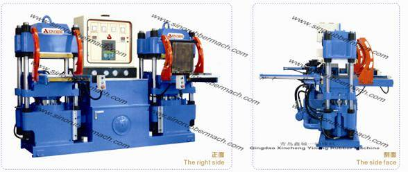 Rubber shock absorber Compression Moding Machine