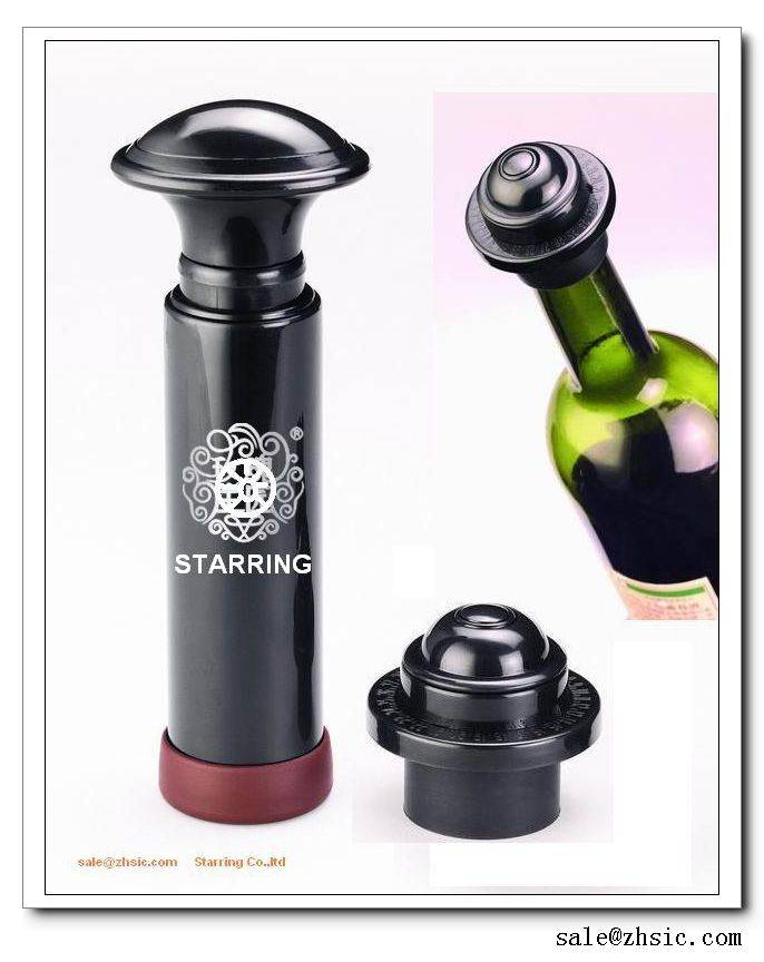 Supply high quality vacuum wine bottle cover-white box