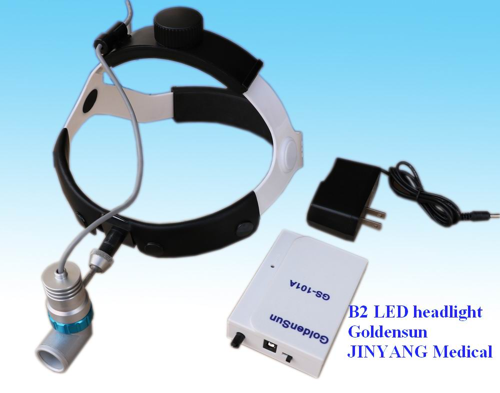 ENT surgery led headlight 3w with rechargeable battery