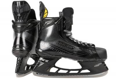 Discount Hockey Skate Bauer Supreme TotalOne MX3 LE Black Sr. Ice Hockey Skates