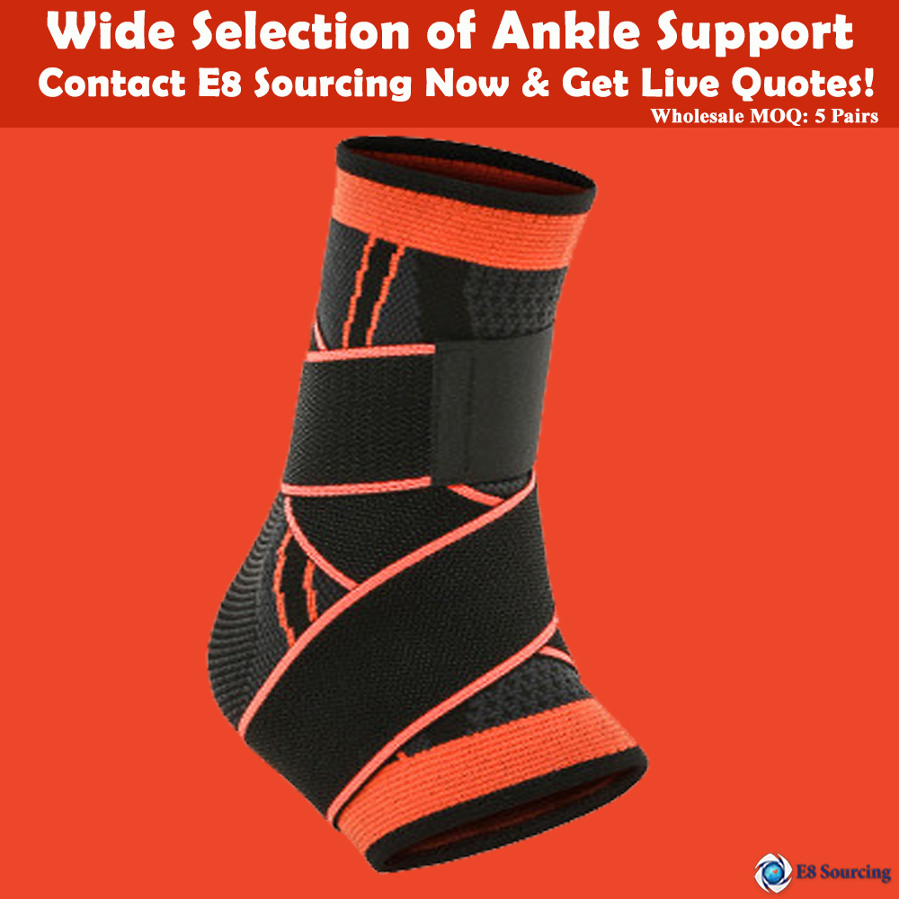 Men's and women's sports nylon ankle protector warm and breathable ankle fixed ankle protector