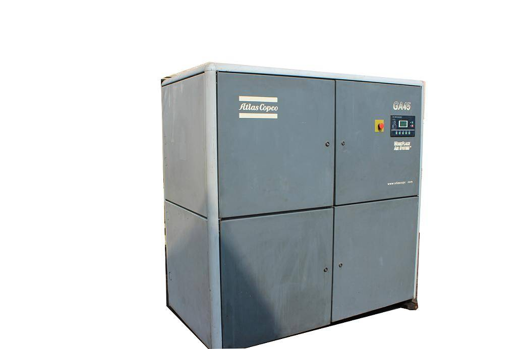 screw air compressor used atlas copco GA45 air compressor