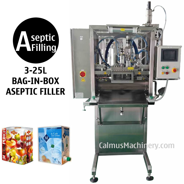 3-25L Single-head BIB Aseptic Filling Machine for Sterile Products Bag in Box Aseptic Filler