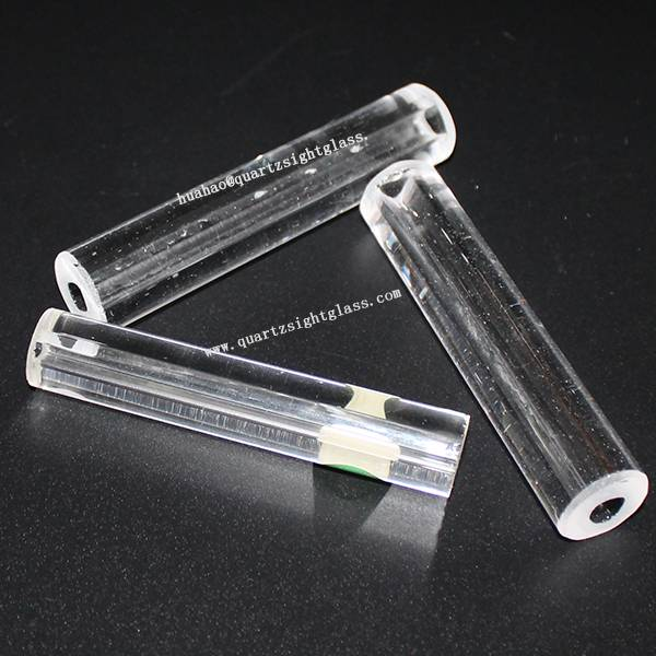 High Temperature Thickness Quartz Cylinder Glass Tube