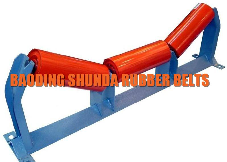 35 Degree Trough Idler with Frame Conveyor Roller
