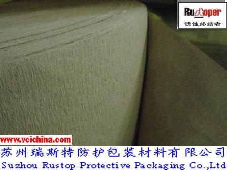 VCI preventive crepe paper for copper&brass