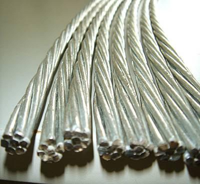 Galvanized Stranded Steel wire