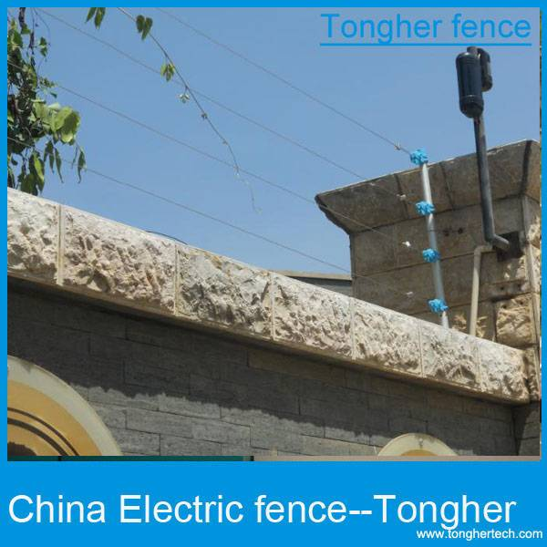 africa high voltage pulse electric fence system for security home