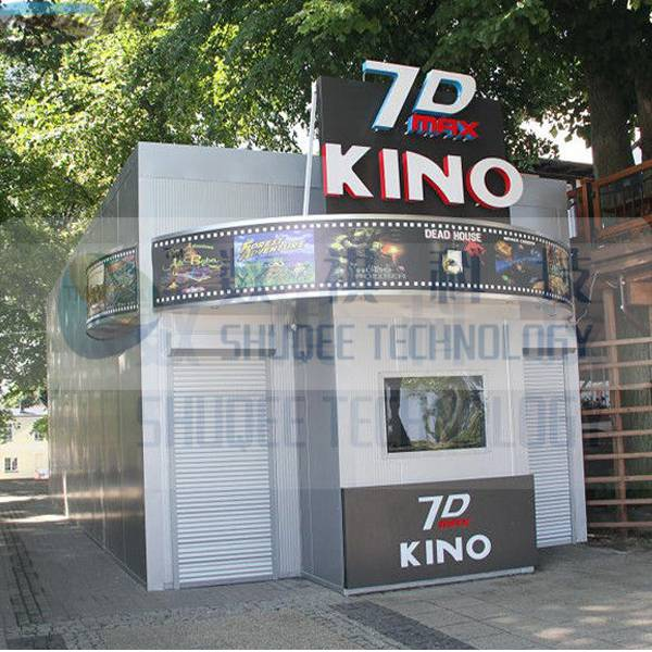 Kino 7D cinema with simulation, 5D simulator theater
