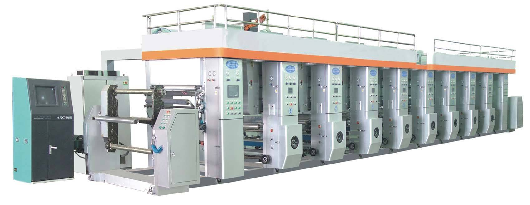High Speed Gravure Printing Machine HPRT600-1200A
