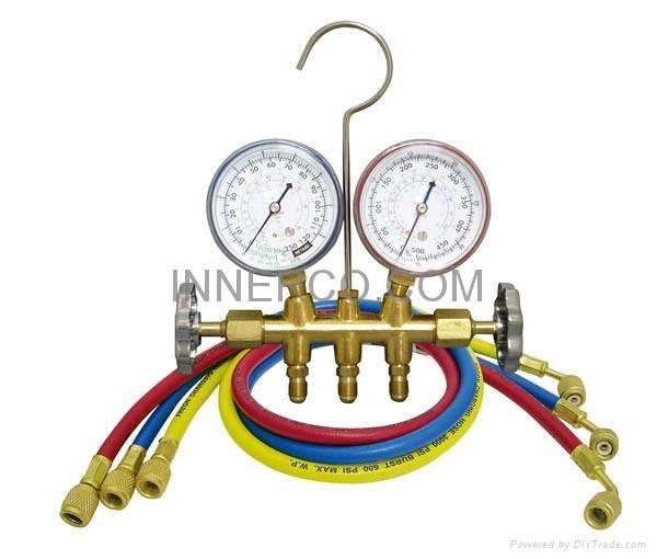 Manifold with hose set IC-636G