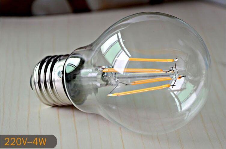 A60 E27 4W LED Filament Bulb