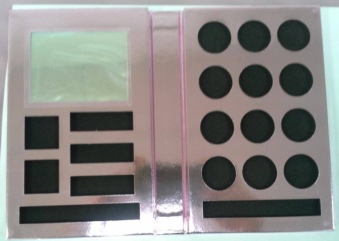 Makeup pallette box