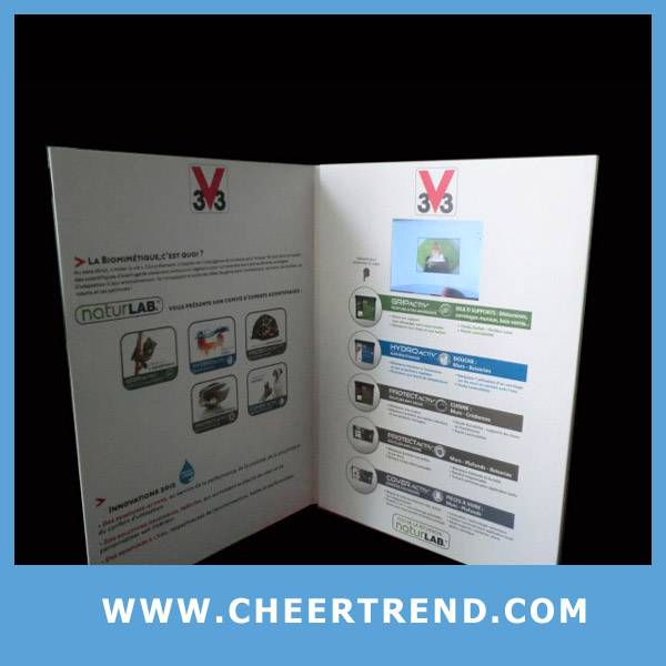 advertising video greeting card