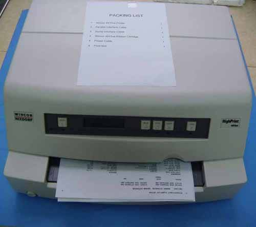 New Wincor 4915XE printer dot matrix printer