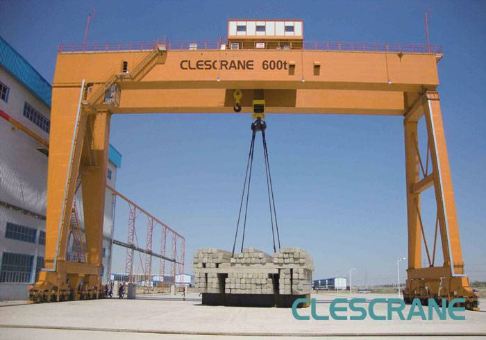 CWG Series Heavy Duty Electric Winch Double Beam Gantry Crane