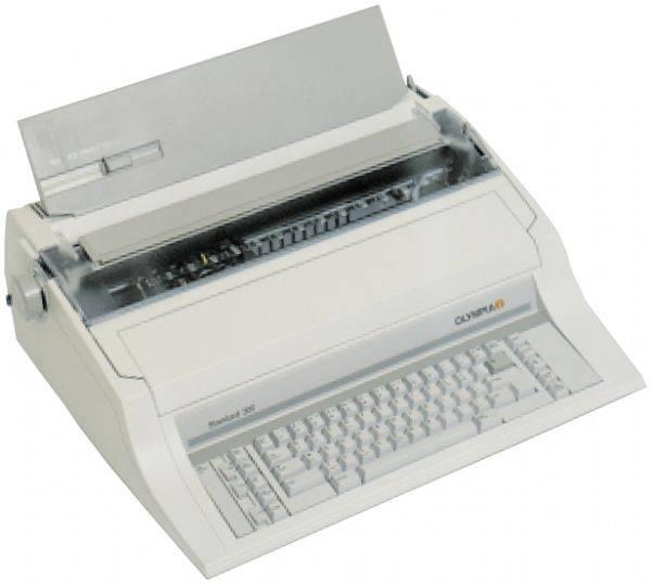 Electronic Typewriter Arabic typewriter english typewriter English / Arabic Typewriter dubai A4 A3