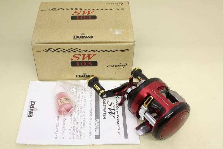 Daiwa Millionaire SW 103 Baitcasting Reel