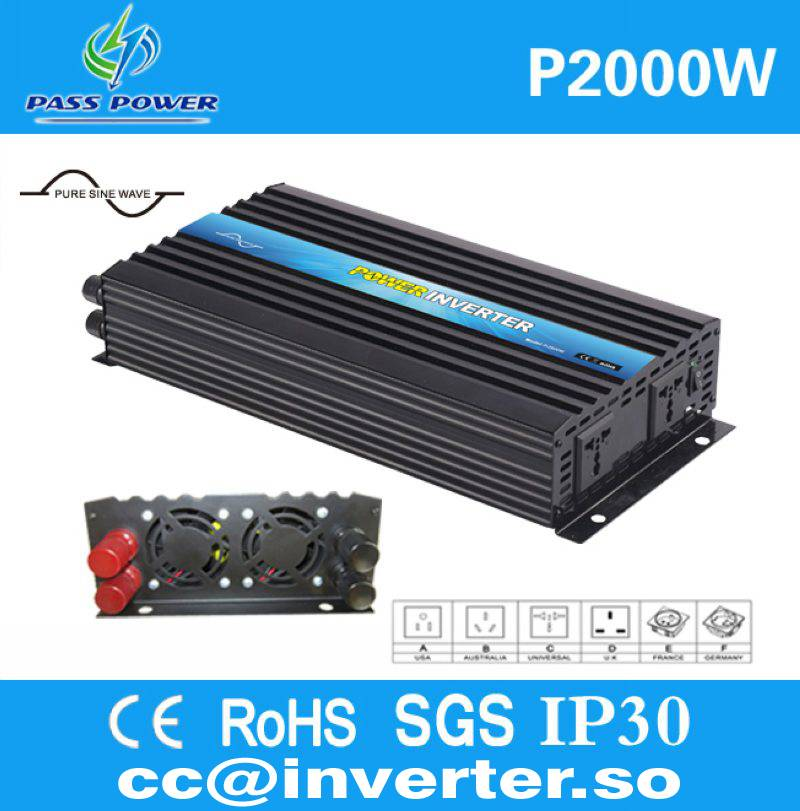 Factory Direct Sell Pure Sine Wave 2000W Inverter for Home