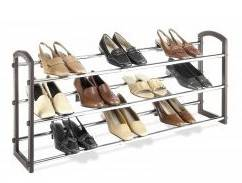 shoe racks high quality with power coated