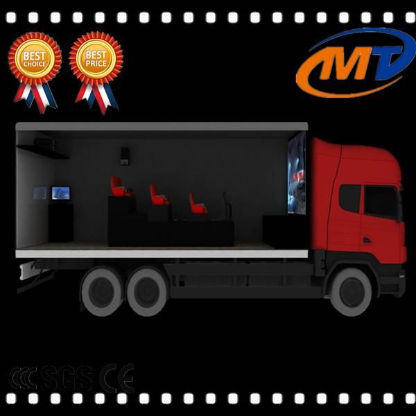 5d mobile cinema on truck
