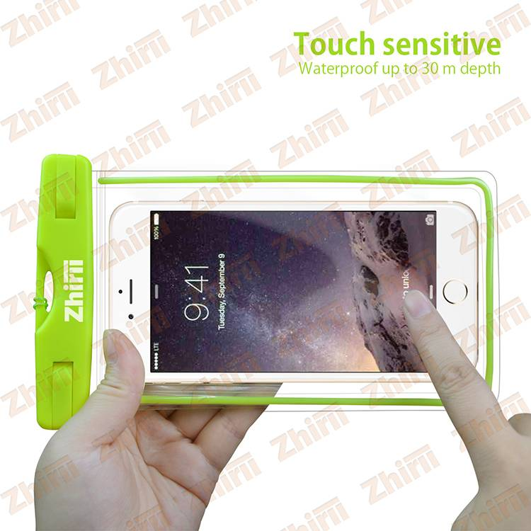 2016 new Universal Water Proof PVC smartphone mobile phone case waterproof pouch