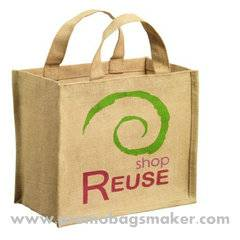 Eco-friendly Natural Jute Tote