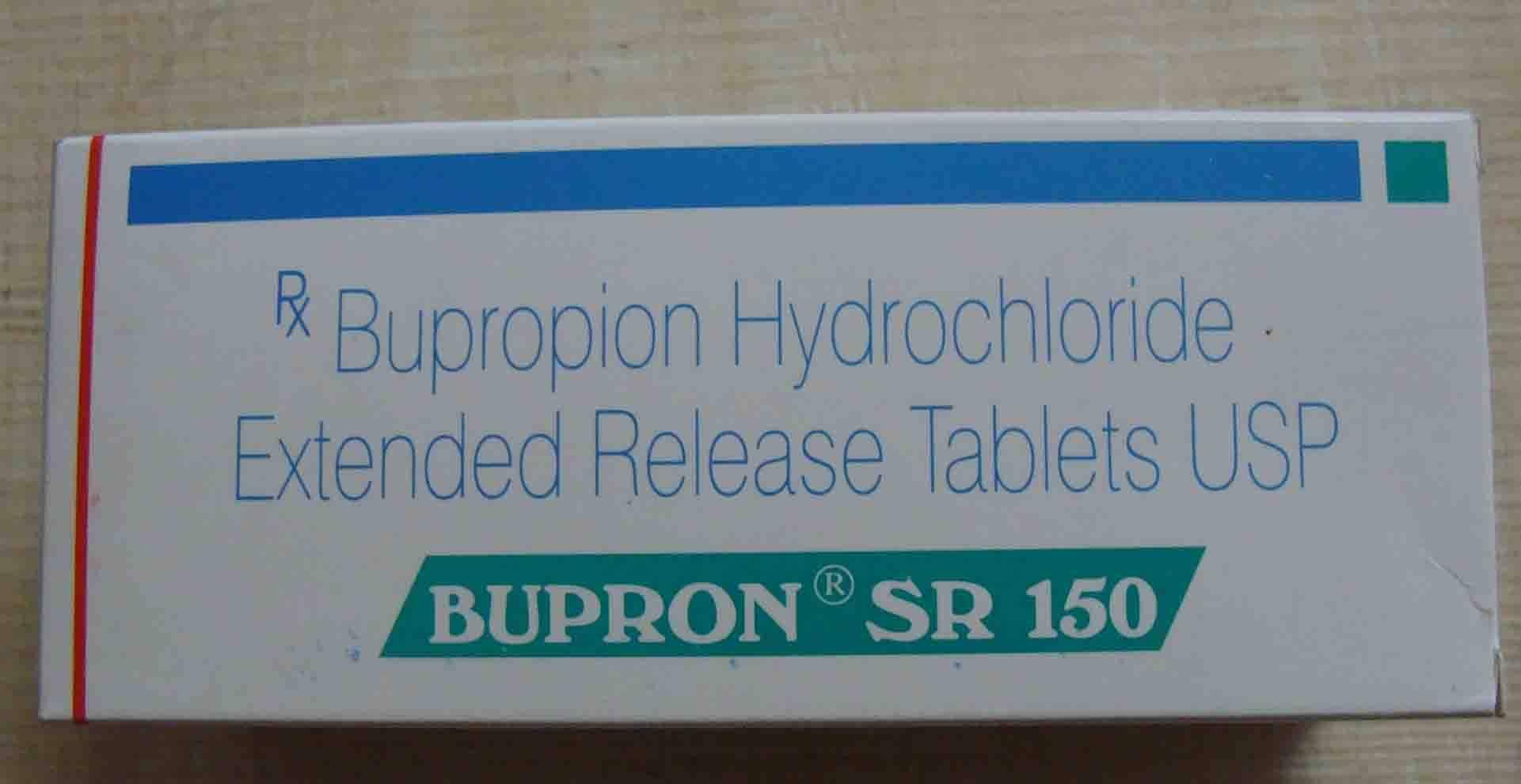 Bupron Sr tablets( Bupropinion)