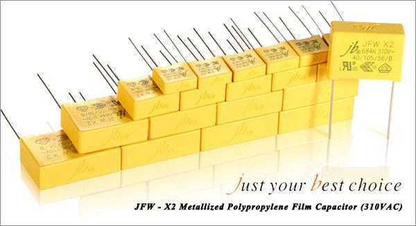 JFW-X2 Metallized polypropylene film capacitors