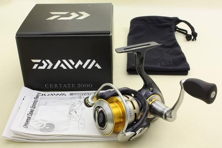 Daiwa Certate 2000 Spinning Reel