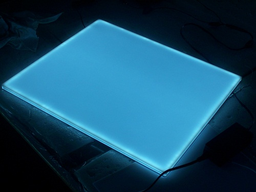 RGB light sheet for advertising decoration