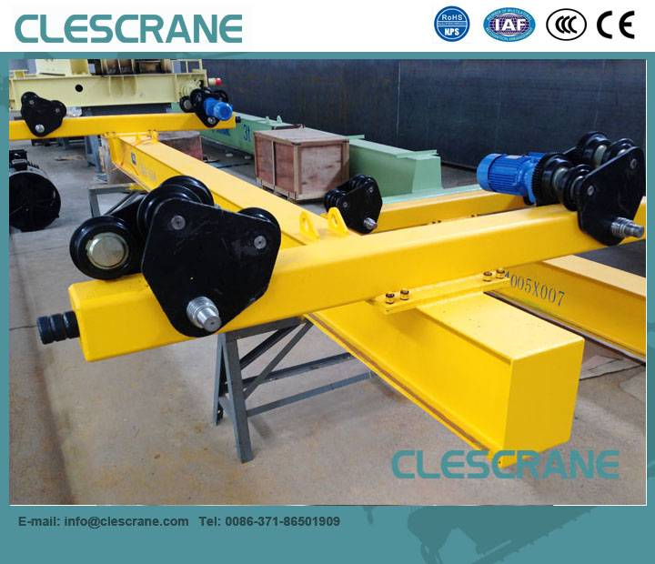 CHX Series Top Quality Traveling Bridge Single Girder Overhead Crane $1000-$8000