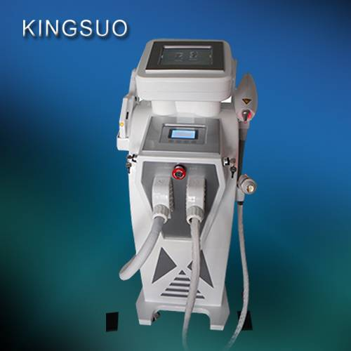 3 handles ipl shr hair removal rf nd yag laser ipl machine